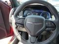 2015 Chrysler 300 Black Interior Steering Wheel Photo