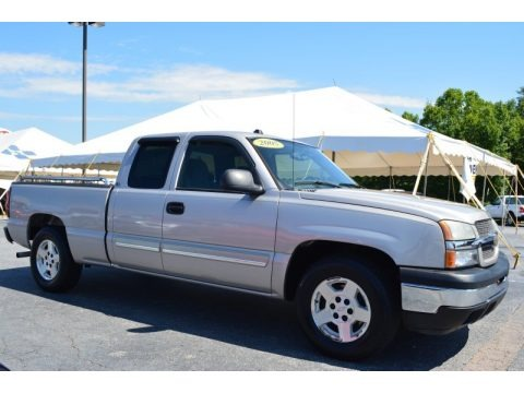 2005 Chevrolet Silverado 1500 LS Extended Cab Data, Info and Specs