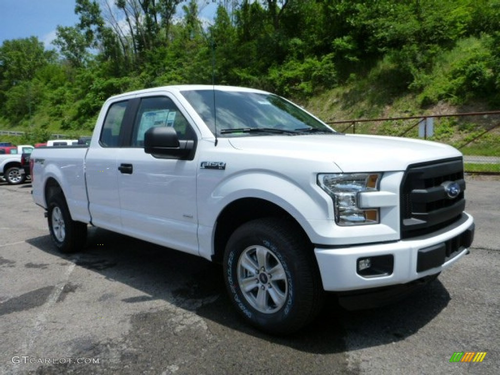 2015 oxford white ford f150 xl supercab 4x4 104979303 car color galleries. Black Bedroom Furniture Sets. Home Design Ideas
