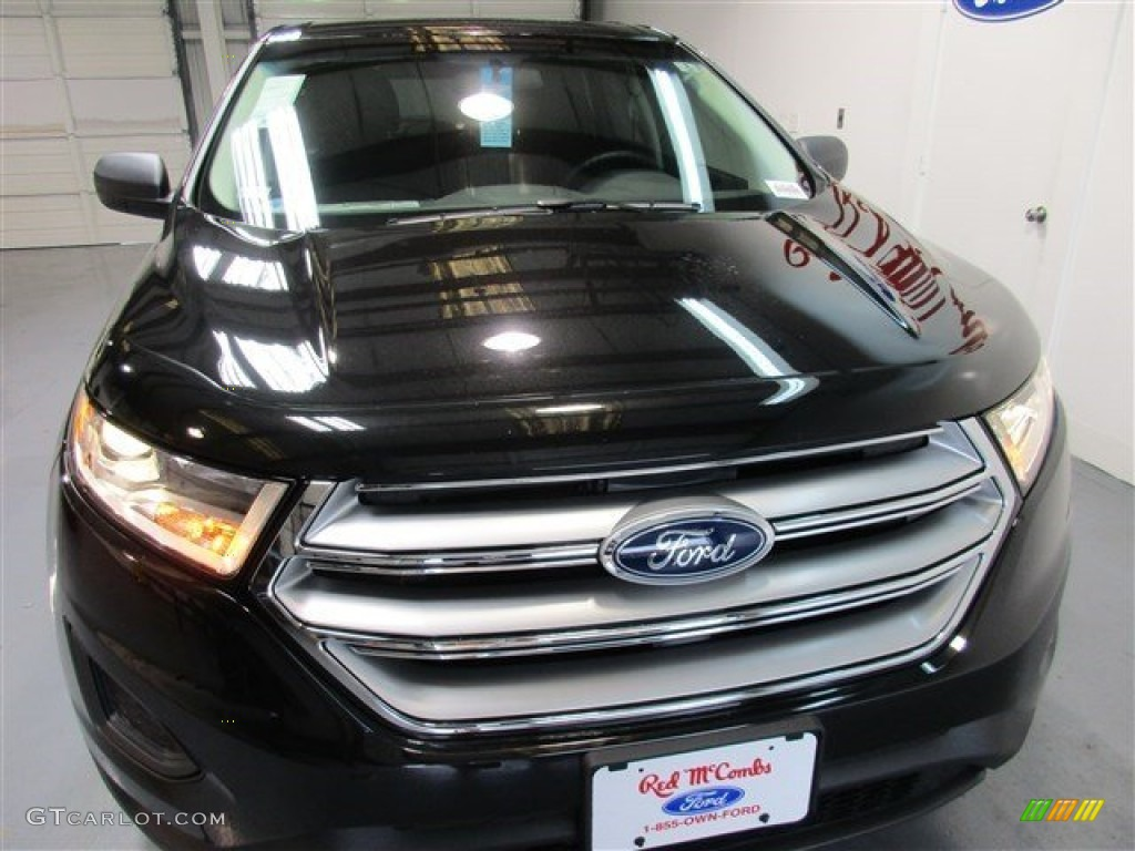 2015 tuxedo black metallic ford edge se 104979197 photo 3 car color galleries. Black Bedroom Furniture Sets. Home Design Ideas