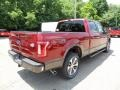 Ruby Red Metallic - F150 King Ranch SuperCrew 4x4 Photo No. 3