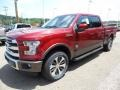 Ruby Red Metallic - F150 King Ranch SuperCrew 4x4 Photo No. 7
