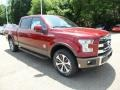 Ruby Red Metallic - F150 King Ranch SuperCrew 4x4 Photo No. 9