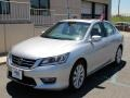 Alabaster Silver Metallic 2013 Honda Accord EX Sedan