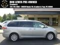 2011 Silver Sky Metallic Toyota Sienna XLE AWD  photo #1