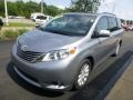 2011 Silver Sky Metallic Toyota Sienna XLE AWD  photo #5