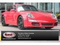Guards Red 2006 Porsche 911 Carrera S Coupe
