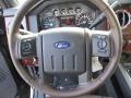 2016 Ford F250 Super Duty King Ranch Mesa/Black Interior Steering Wheel Photo