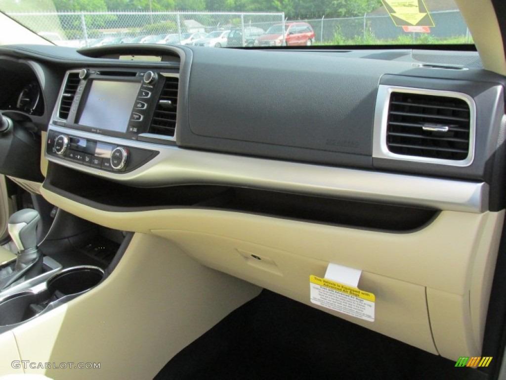 2015 Creme Brulee Mica Toyota Highlander Xle 105017349 Photo 15 Car Color