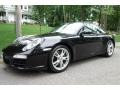 Basalt Black Metallic 2009 Porsche 911 Carrera Coupe