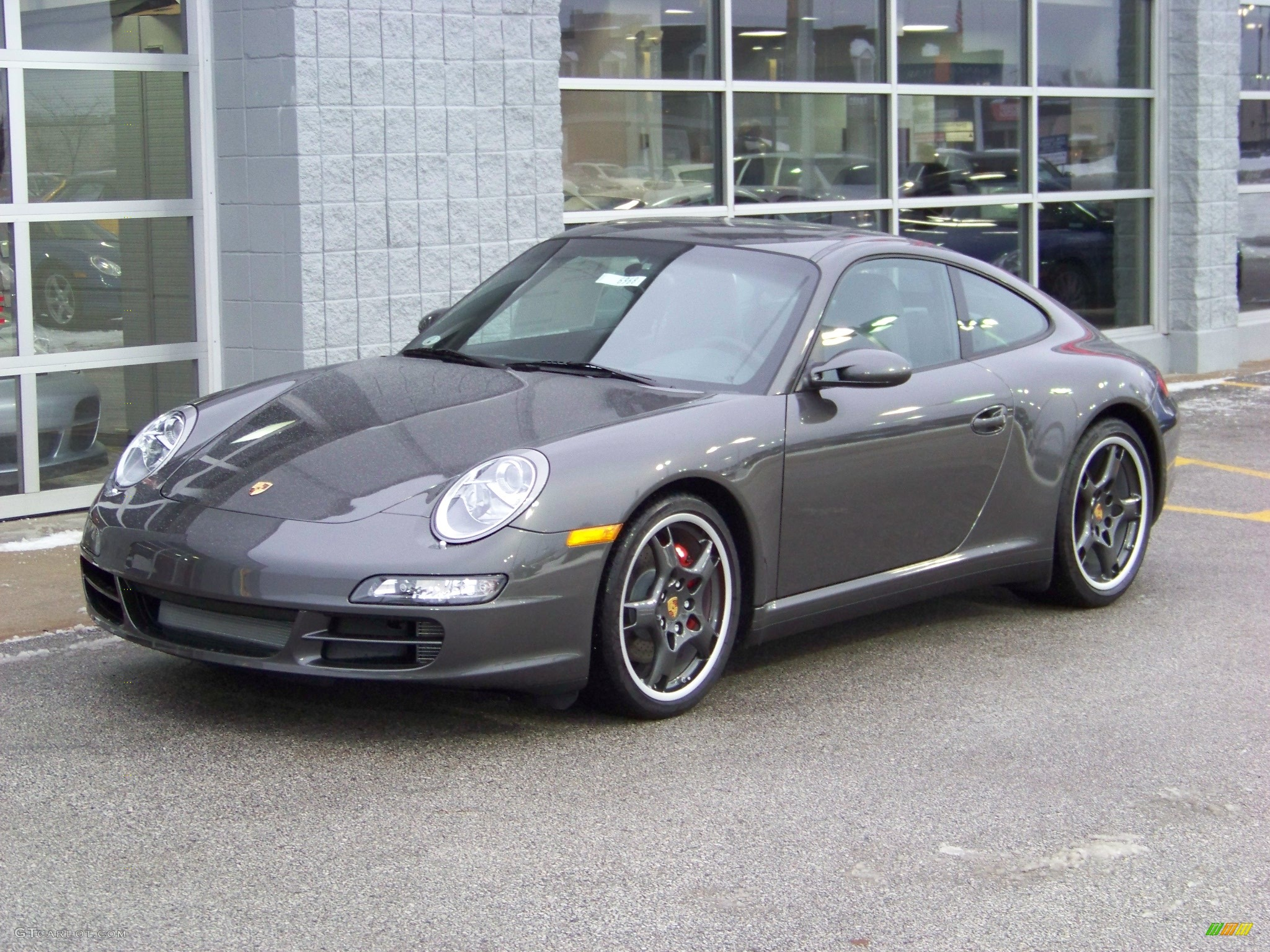 2008 slate grey metallic porsche 911 carrera 4s coupe. Black Bedroom Furniture Sets. Home Design Ideas