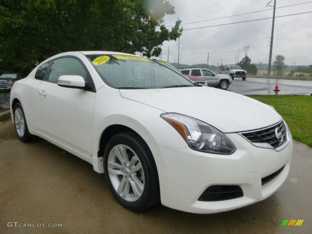 winter frost white 2012 nissan altima 2 5 s coupe exterior. Black Bedroom Furniture Sets. Home Design Ideas