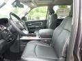2015 Ram 1500 Black Interior Front Seat Photo