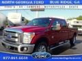 Ruby Red 2015 Ford F350 Super Duty Gallery