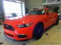 Competition Orange 2015 Ford Mustang Gallery