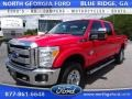 Vermillion Red 2015 Ford F350 Super Duty Gallery