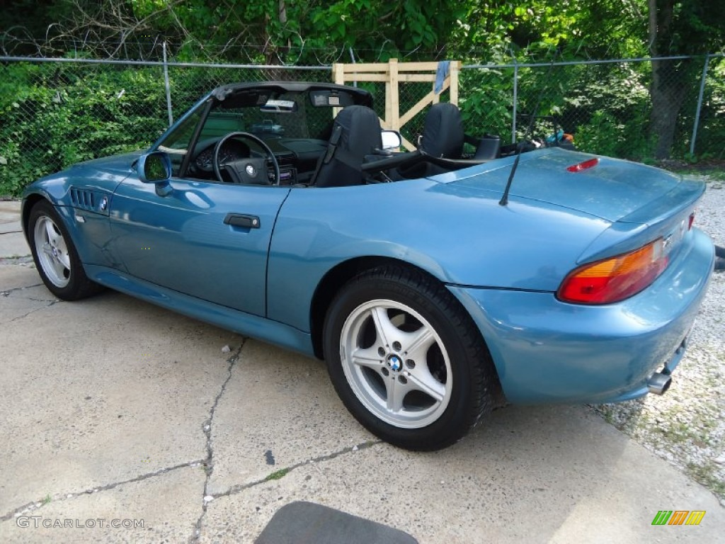 atlanta blue metallic 1996 bmw z3 19 roadster exterior photo 105109790 atlanta blue metallic 1996