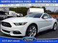 2015 Oxford White Ford Mustang EcoBoost Premium Coupe  photo #1