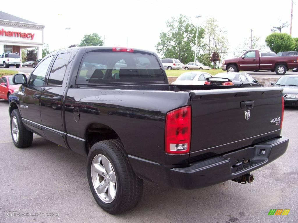 2006 brilliant black crystal pearl dodge ram 1500 sport quad cab 4x4 10496089 photo 8. Black Bedroom Furniture Sets. Home Design Ideas
