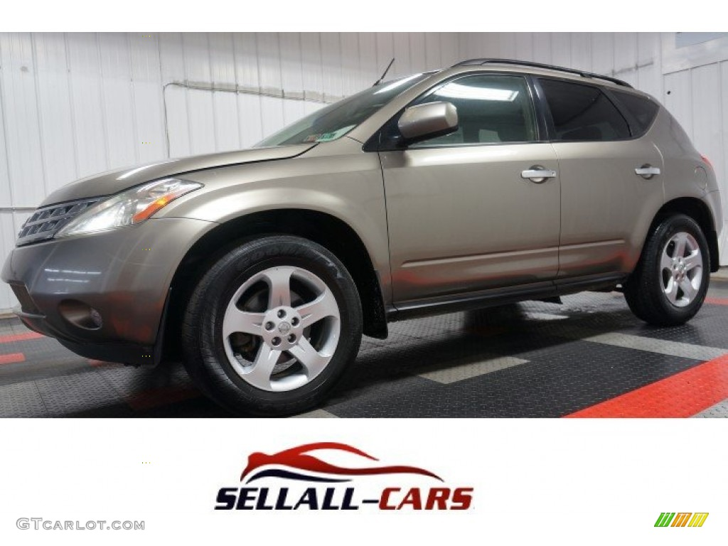2003 Polished Pewter Metallic Nissan Murano Sl Awd