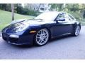 Dark Blue Metallic 2011 Porsche 911 Carrera Coupe