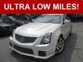White Diamond Tricoat 2012 Cadillac CTS -V Sedan