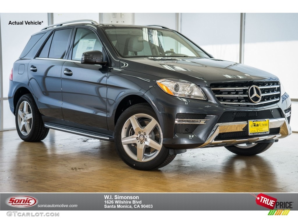 2015 steel grey metallic mercedes benz ml 350 105212911 for 2015 mercedes benz ml