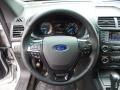 Ebony Black Steering Wheel Photo for 2016 Ford Explorer #105231302