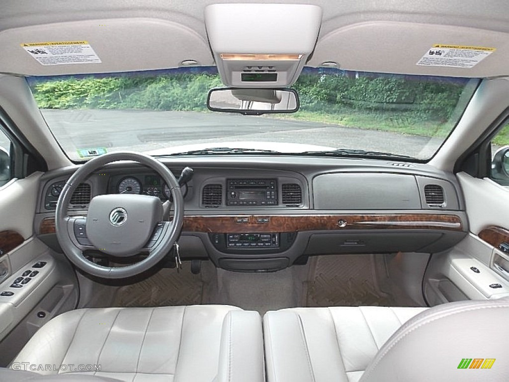 2007 mercury grand marquis ls light camel dashboard photo. Black Bedroom Furniture Sets. Home Design Ideas