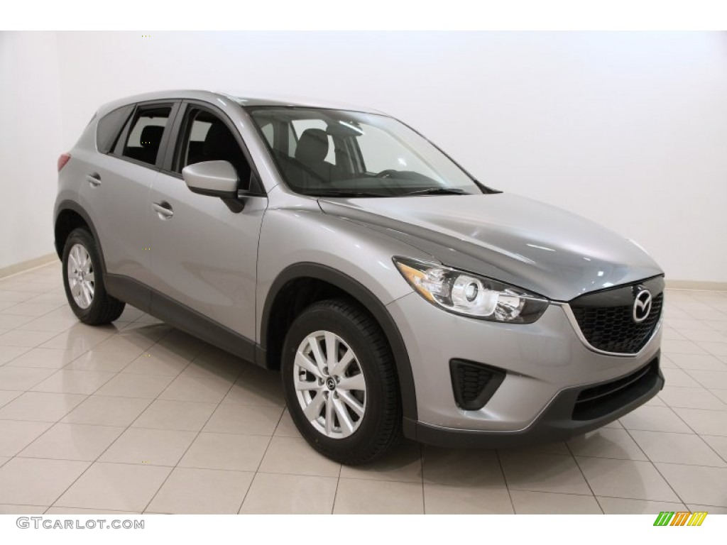 2013 liquid silver mazda cx 5 sport awd 105213233 car color galleries. Black Bedroom Furniture Sets. Home Design Ideas