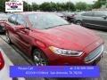 2016 Ruby Red Metallic Ford Fusion Titanium #105250830