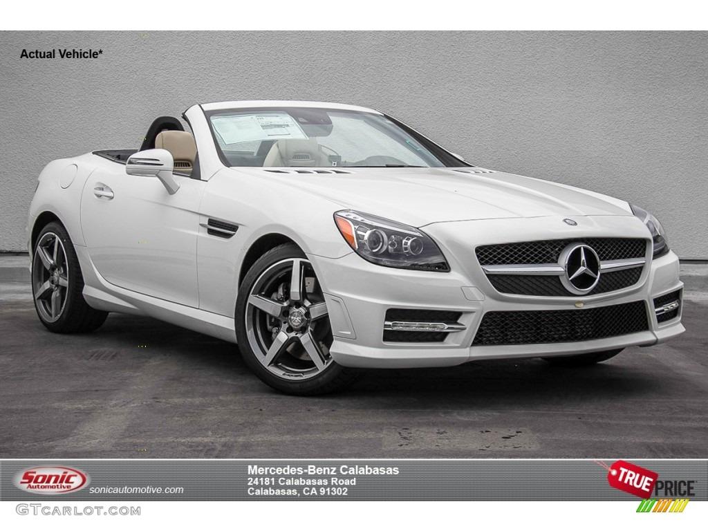 2015 polar white mercedes benz slk 250 roadster 105250764 for Mercedes benz polar white paint