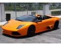 Front 3/4 View of 2007 Murcielago LP640 Roadster