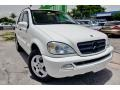 Alabaster White 2002 Mercedes-Benz ML 320 4Matic