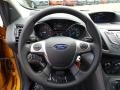 Charcoal Black Steering Wheel Photo for 2016 Ford Escape #105299216