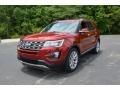 2016 Ruby Red Metallic Tri-Coat Ford Explorer Limited  photo #1