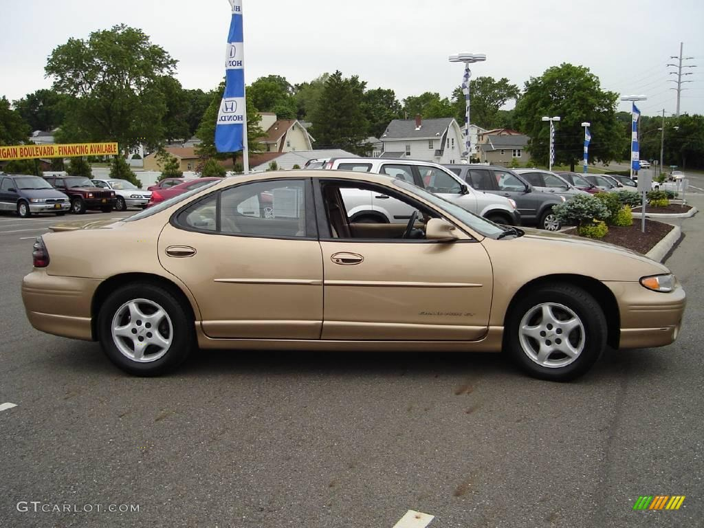 1998 gold metallic pontiac grand prix gt sedan 10492732 photo 6 car color. Black Bedroom Furniture Sets. Home Design Ideas