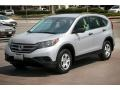 2012 Alabaster Silver Metallic Honda CR-V LX  photo #8