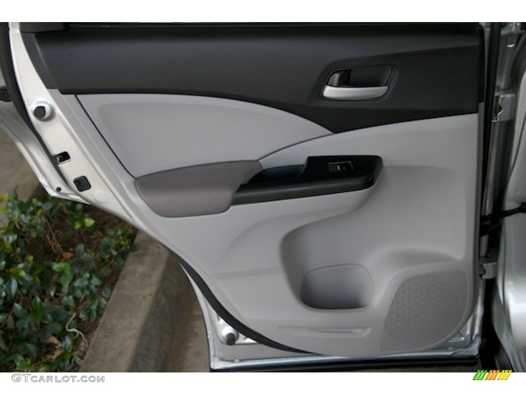 2012 CR-V LX - Alabaster Silver Metallic / Gray photo #25