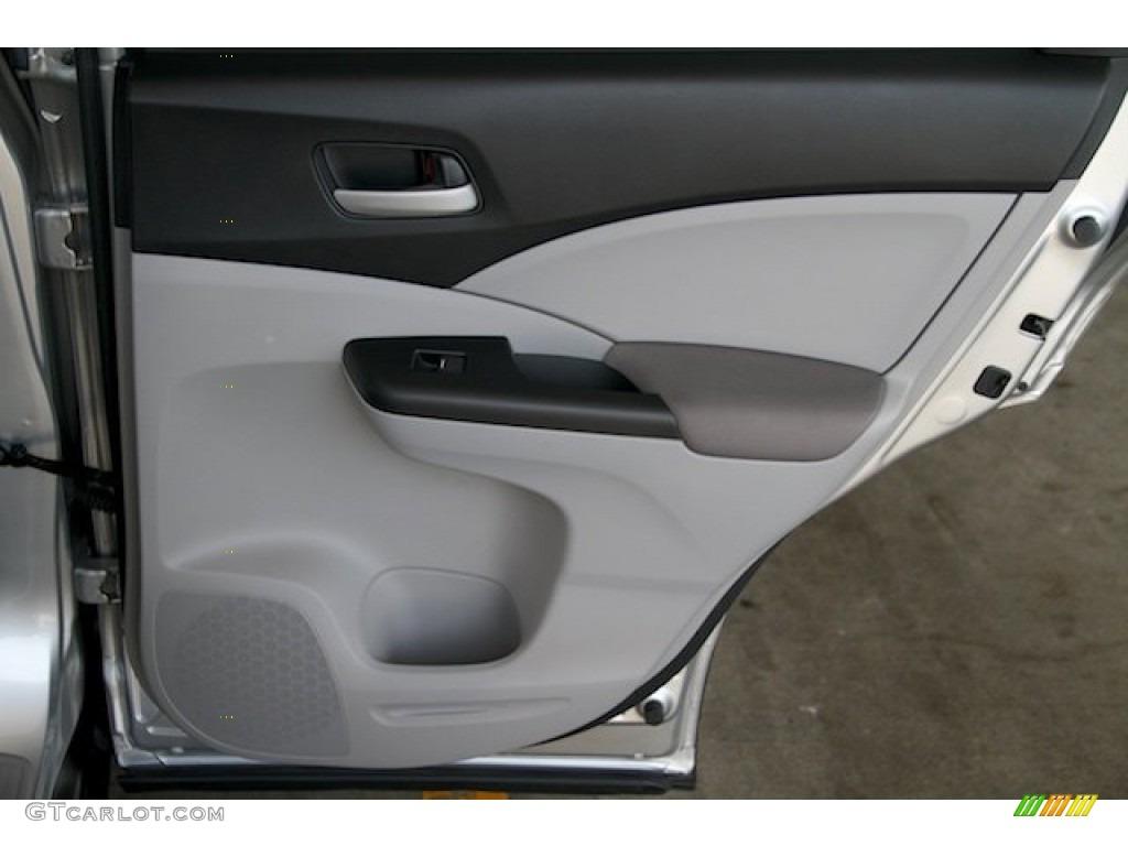 2012 CR-V LX - Alabaster Silver Metallic / Gray photo #26