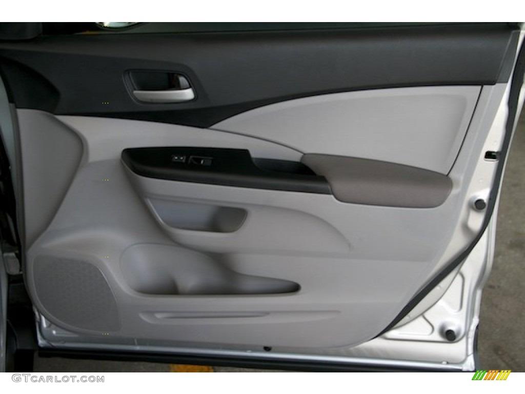 2012 CR-V LX - Alabaster Silver Metallic / Gray photo #27