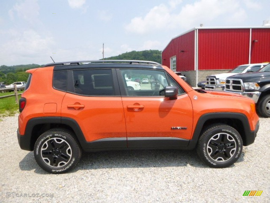 omaha orange 2015 jeep renegade trailhawk 4x4 exterior photo 105326450. Black Bedroom Furniture Sets. Home Design Ideas
