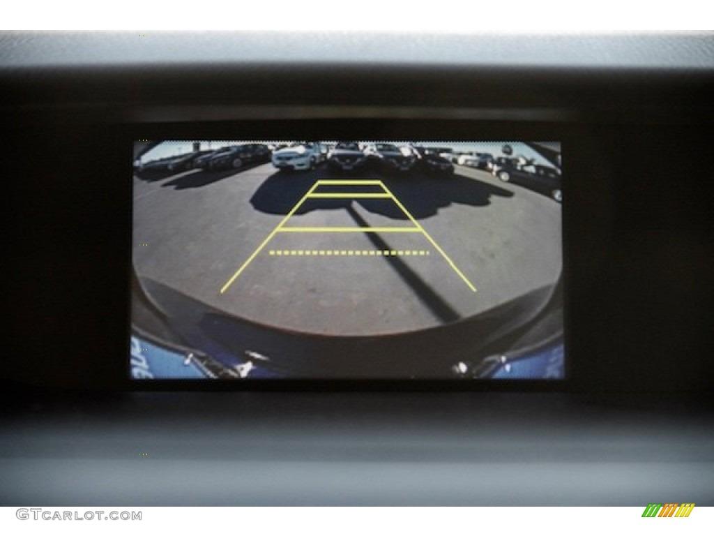 2015 CR-V LX - Obsidian Blue Pearl / Gray photo #5