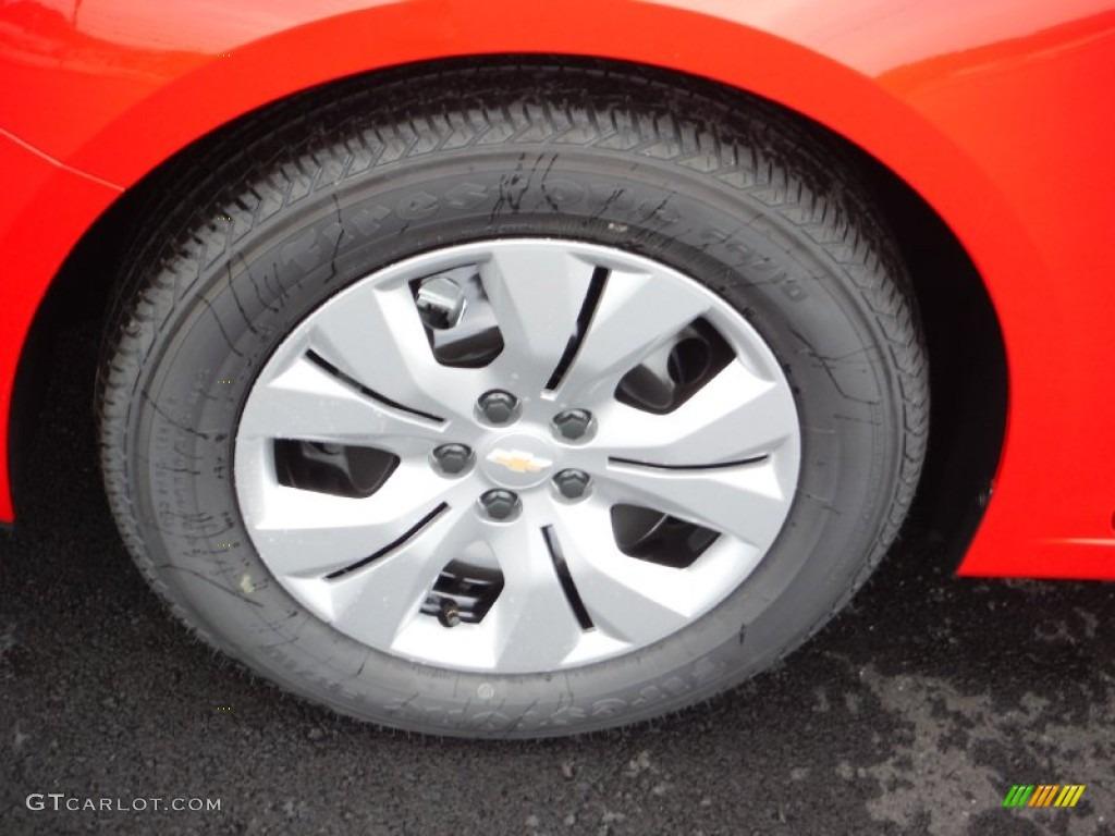2016 Chevrolet Cruze Limited LS Wheel Photo #105348124