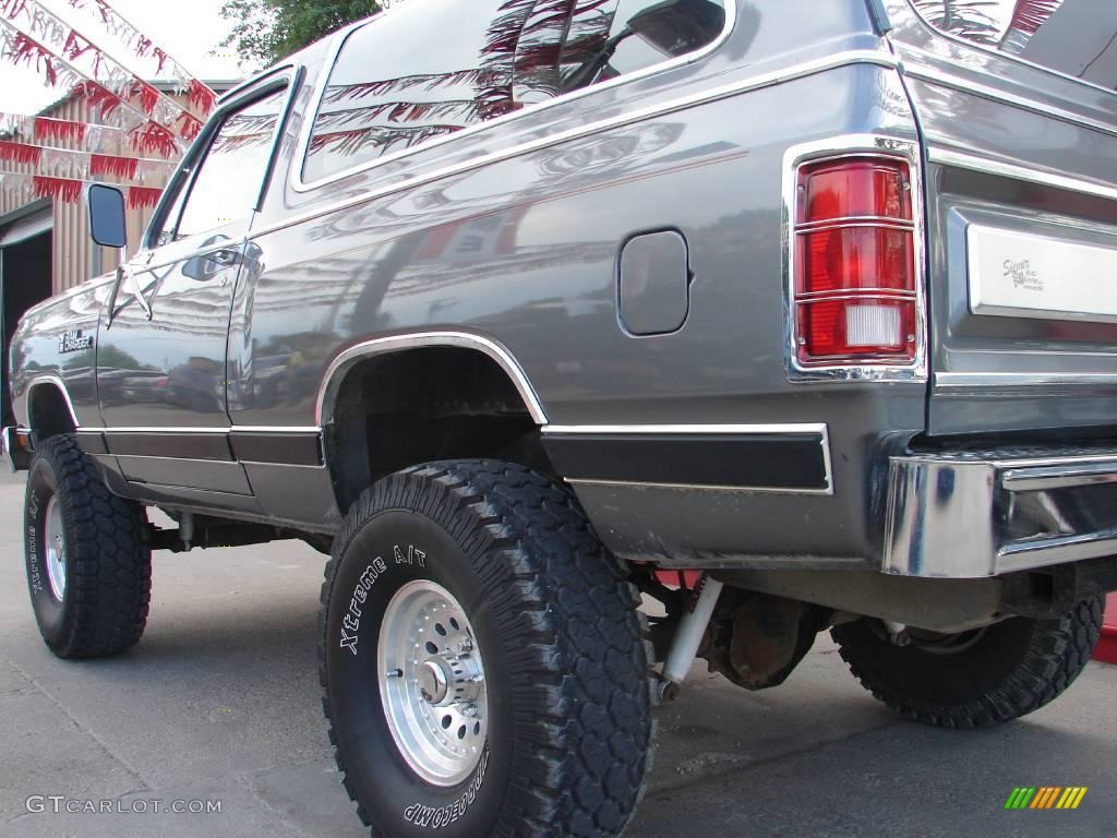 1987 Charcoal Pearl Metallic Dodge Ramcharger Le 150 4x4 10506760 Photo 8 Gtcarlot Com Car Color Galleries