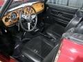 1974 TR6 Black Interior