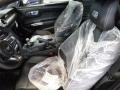 Ebony Front Seat Photo for 2015 Ford Mustang #105387691