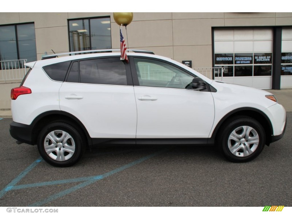 Super White 2013 Toyota Rav4 Le Awd Exterior Photo 105393543