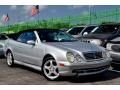 Front 3/4 View of 2002 CLK 55 AMG Cabriolet