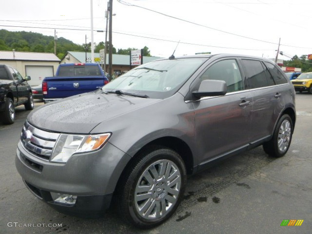 2010 sterling grey metallic ford edge limited awd. Black Bedroom Furniture Sets. Home Design Ideas